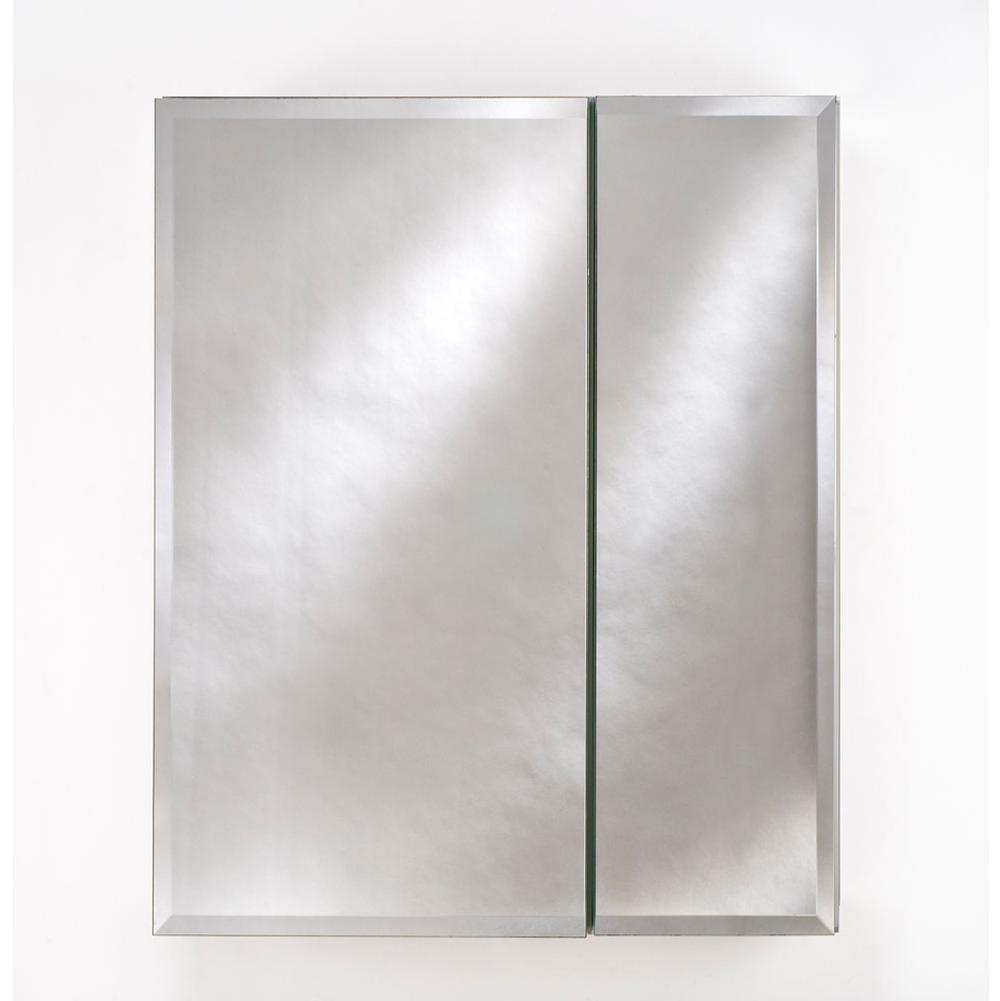 Afina Corporation   DD2830RBRDBV   Double Door 28X30 Recessed Broadway  Beveled