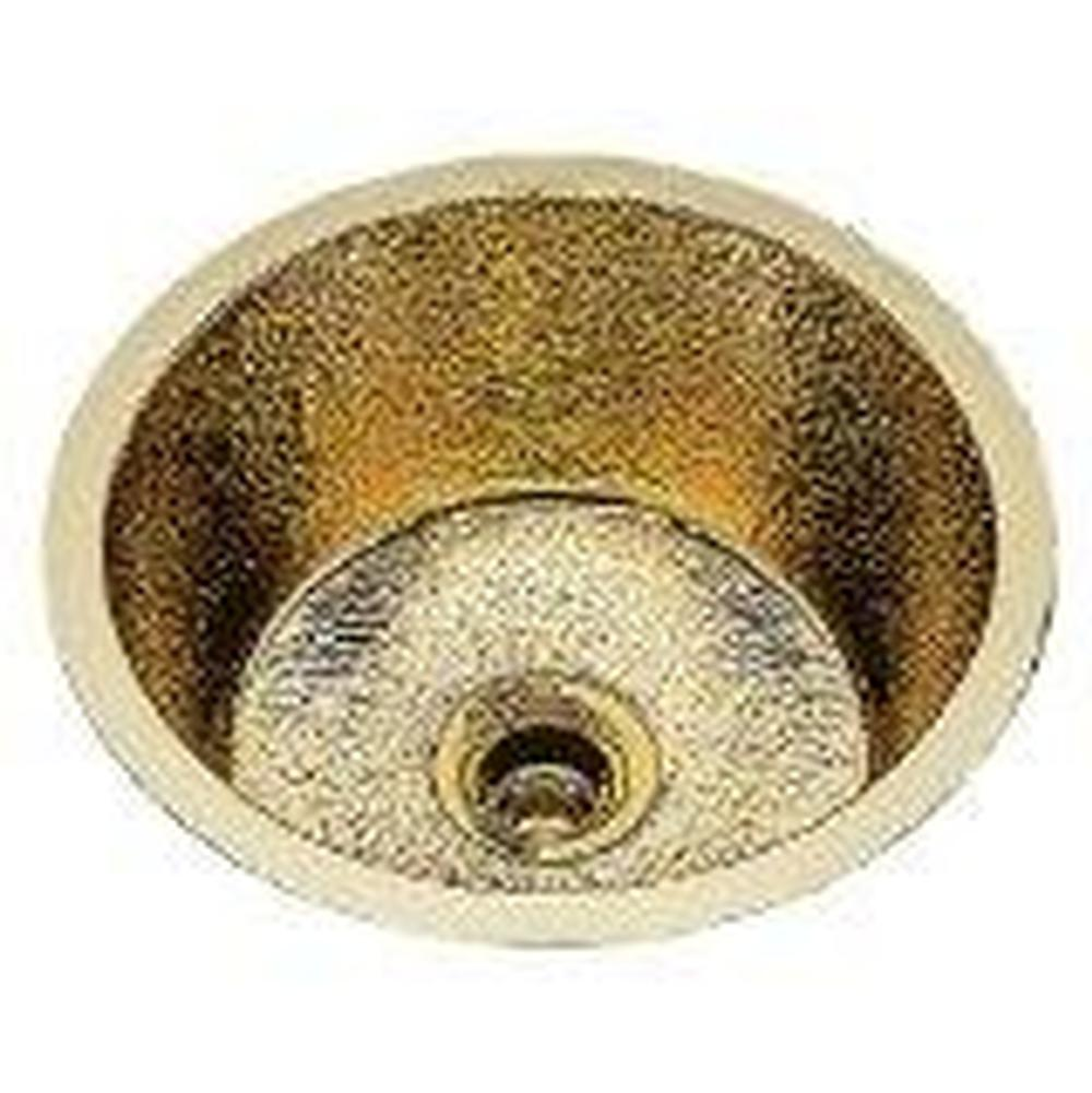 Bates And Bates   B0500P.AN   Small Round Bar Sink. Plain Pattern,  Undermount U0026 Drop In