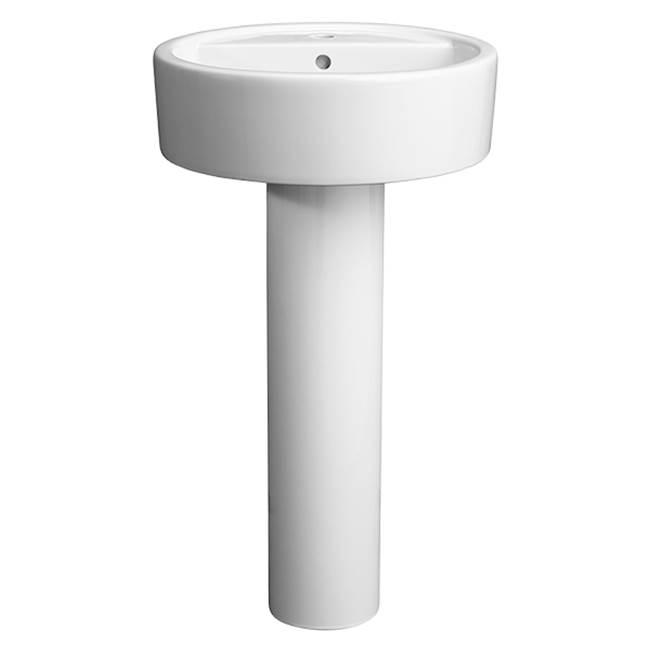 sinks pedestal bathroom sinks   general plumbing supply - walnut