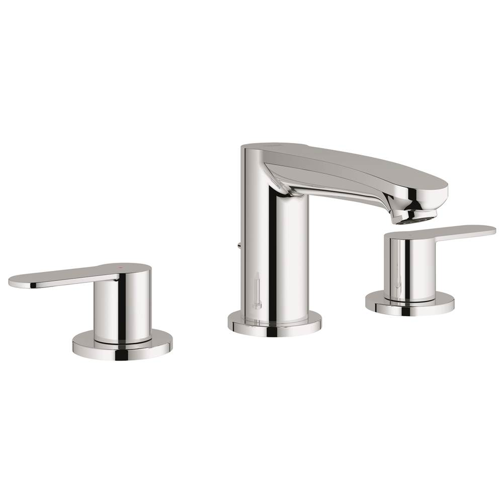 Grohe 20209002 Eurostyle Cosmopolitan 8 In Widespread 2 Handle 3 Hole Bathroom Faucet