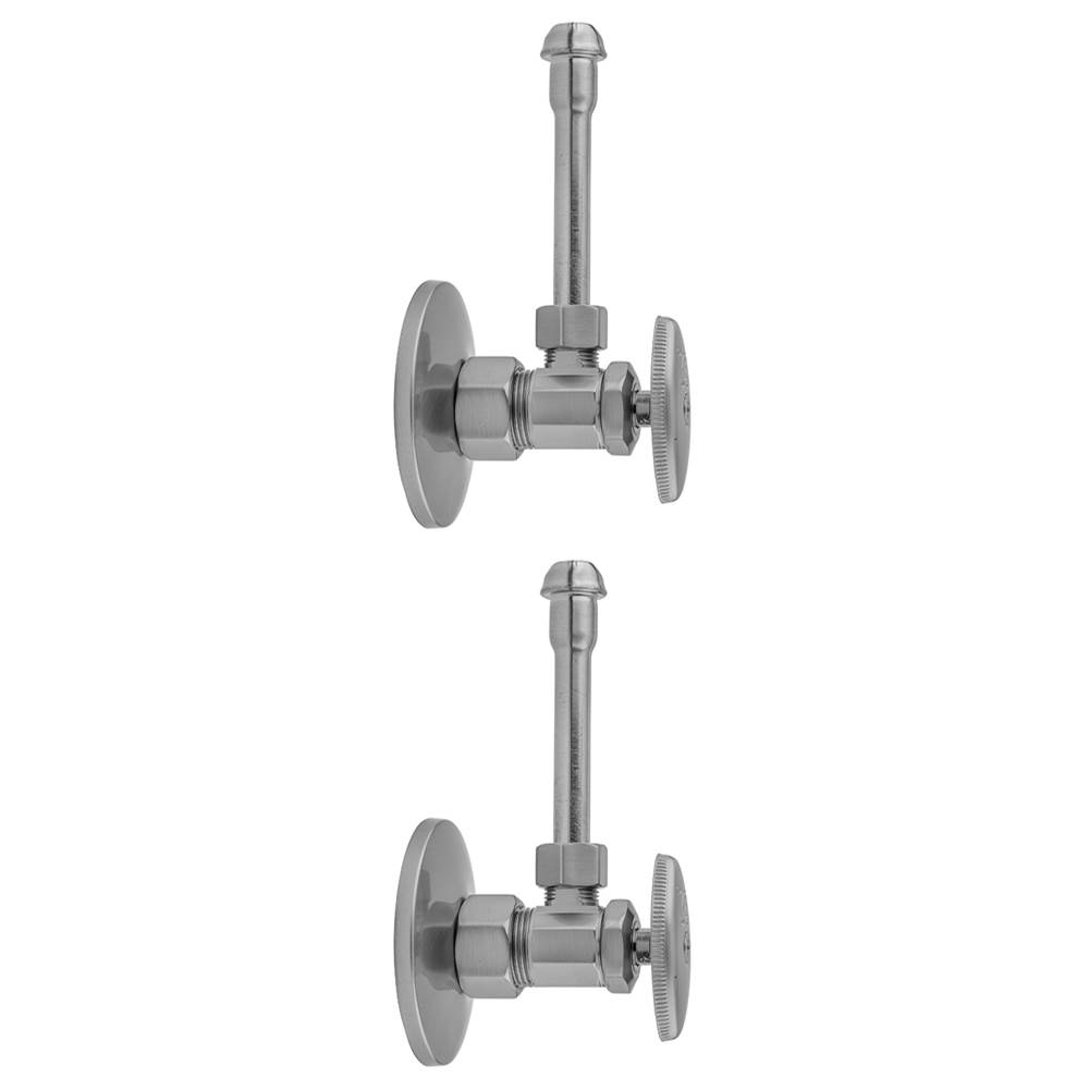Compression Valve Kit with 12 Supply Tube Jaclo 585-71-PCH Ips O.D Polished Chrome 3//8 Standard Plumbing Supply 3//8