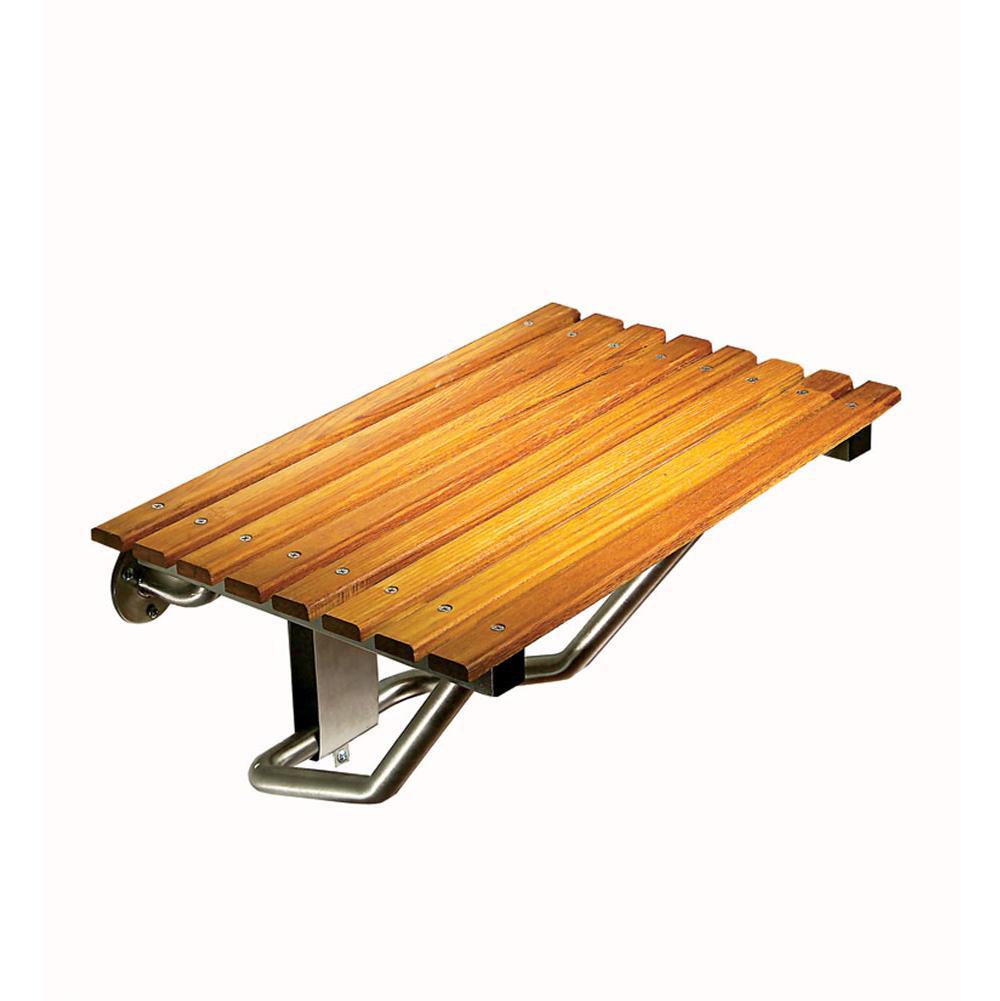Bathroom Shower Accessories Shower Seats Wood | General Plumbing ...