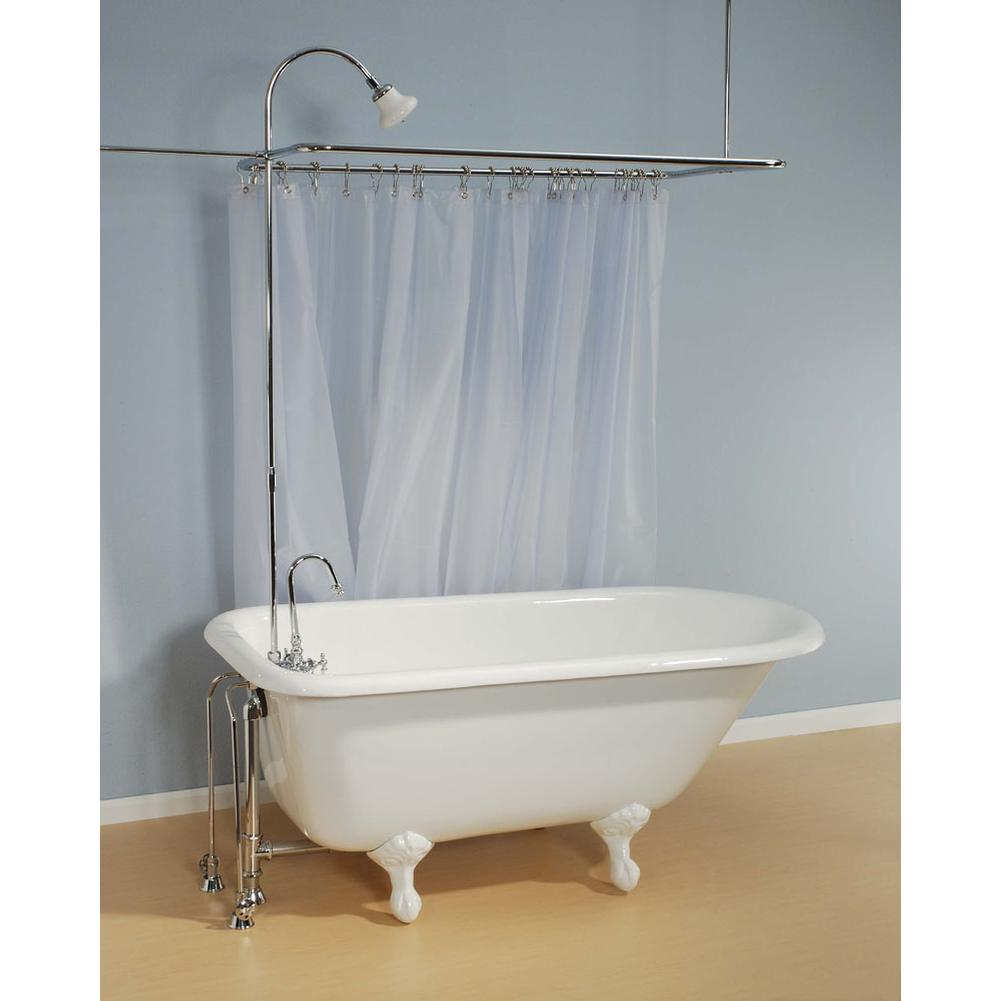 Tubs soaking tubs free standing general plumbing supply for Free standing soaking tub