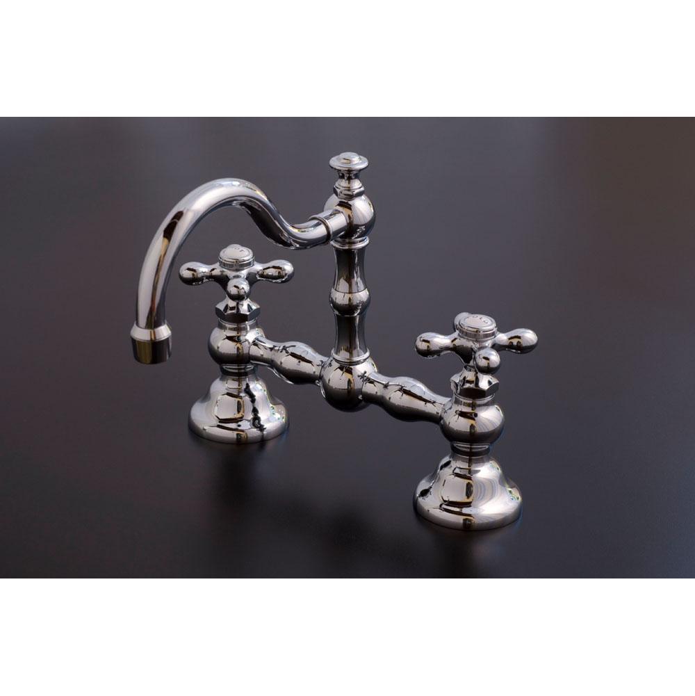 Bathroom Sink Faucets Bridge | General Plumbing Supply - Walnut ...