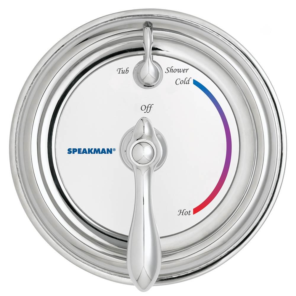 Speakman Sm 3420 Sentinel Mark Ii Pressure Balanced Diverter Valve Shower Combination Polished Chrome Tools Home Improvement Faucet Handles