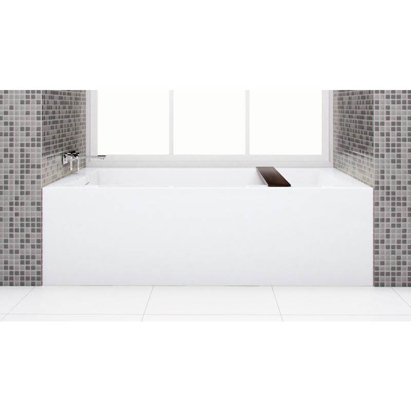 Wet Style Free Standing Soaking Tubs item BC1205-L-SBNT-COP-MA