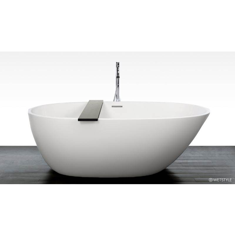Wet Style Free Standing Soaking Tubs item BBE01-R-PCNT-GA-S2